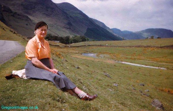 058-Grandma-Edith-at-Gatesgarth-1959