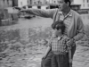 043-Dad-and-Nicky-in-Polperro-circa-1953