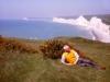 147-Grandpa-near-Birling-Gap-May-1965