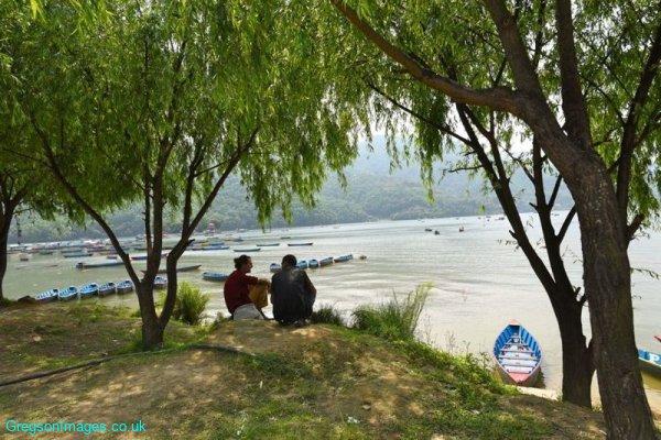 450-The-lake-at-Pokhara