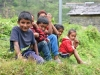 048-Local-children-by-their-village